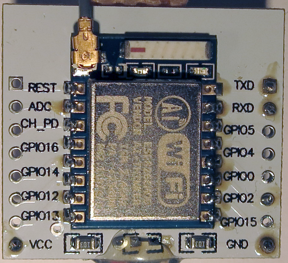 esp-07-on-adapter-board